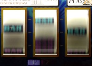 spinning slot machine display