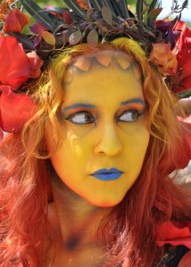 Faerie at the Renaissance Pleasure Faire, Irwindale, California