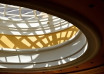interior domed skylight at Wynn Hotel & Casino