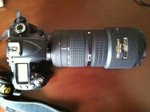 Nikor 80.0-200.0 mm f/2.8 lens