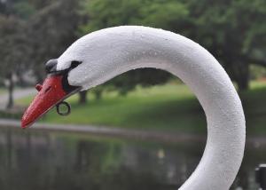 Swan Boat iin Boston's Public Garden