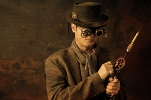 antiqued steampunk image