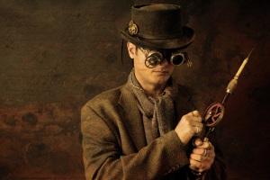 antiqued steampunk image