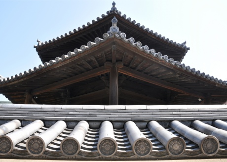 Jotenji Temple roof