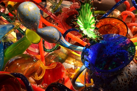 "Chihuly, ""Ikebana Boat"" at the Oklahoma City Museum of Art"