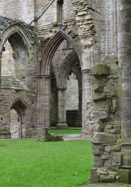 Ruins of Tintern Abbey, Monmouthshire, Wales