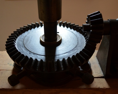 Gears in a mill in Wiltshire
