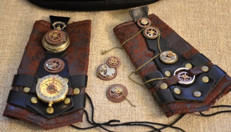 gauntlets and jewelry