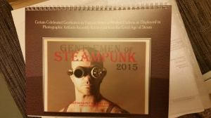 Gentlemen of Steampunk calendar