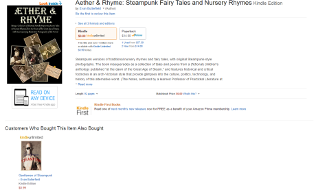 """Aether & Rhyme"" at Amazon.com"